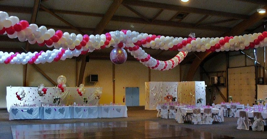 Decoration ballons pour mariage for Agora decoration